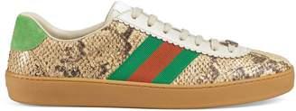 Gucci Python Web sneaker