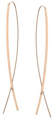 Women's Lana Jewelry Mega Flat Upside Down Hoop Earrings $625 thestylecure.com