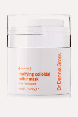 Dr. Dennis Gross Skincare Clarifying Colloidal Sulfur Mask, 50g - Colorless