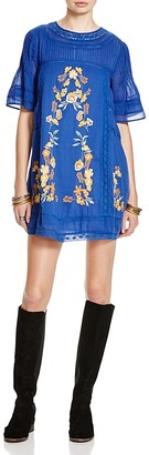 Free People Perfectly Victor Embroidered Dress $168 thestylecure.com