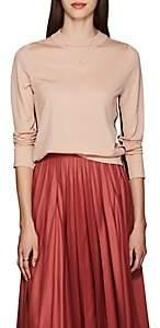 Boon The Shop Women's Wool Mock Turtleneck Sweater - Pink