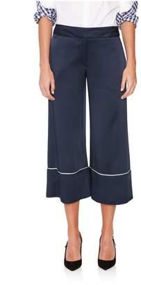 Monse Wide-Leg Pajama Culotte Pant