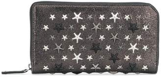 Jimmy Choo Carnaby star studded wallet