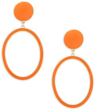 Natasha Geometric Drop Earrings