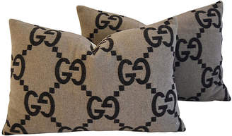 Gucci Cashmere & Velvet Pillows
