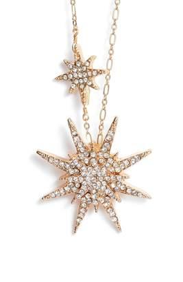 Serefina Crystal Starburst Necklace