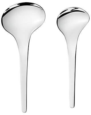 Georg Jensen Bloom Serving Spoons, Set of 2