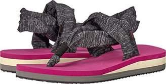 Chooka Women's Yoga Mat Footbed Sling Sport Sandal