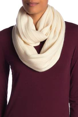 Halogen Solid Cashmere Infinity Scarf