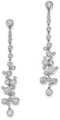 Bloomingdale's Diamond Bezel Drop Earrings in 14K White Gold, 2.30 ct. t.w. - 100% Exclusive