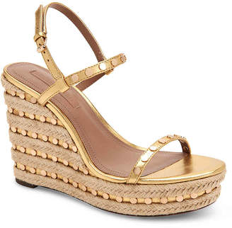 BCBGMAXAZRIA Luxury Paige Espadrille Wedge Sandal - Women's