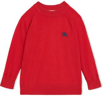 Burberry Crew Neck Cashmere Sweater