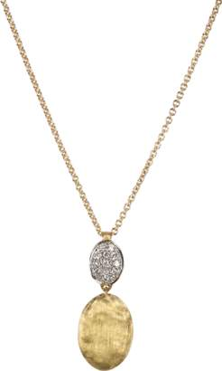 Marco Bicego Diamond Pave Pendant Necklace