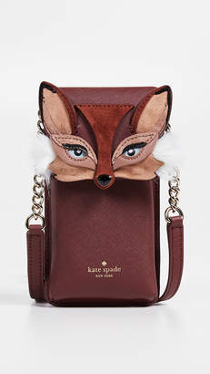 Kate Spade Fox Phone Crossbody Bag
