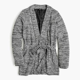 J.Crew Textured long cardigan sweater