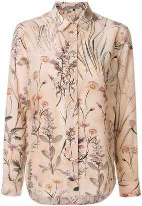 Bottega Veneta botanical print blouse