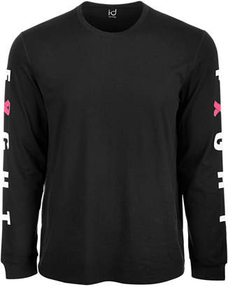 Id Ideology Men's Breast Cancer Awareness Graphic Long-Sleeve T-Shirt