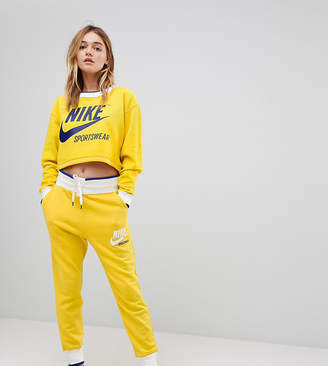 Nike Exclusive To ASOS Archive Joggers In Yellow