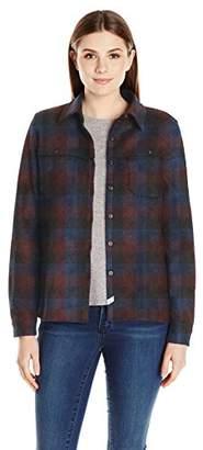 Woolrich Women's Wool Buffalo Stag Shirt