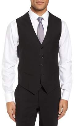 Ted Baker Trim Fit Solid Wool Vest
