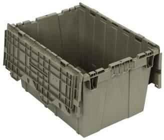 Quantum QDC2115-12 Plastic Storage Container with Attached Flip-Top Lid