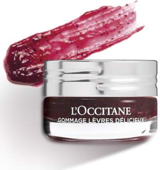 L'Occitane Delicious Lip Scrub Raspberry Crush