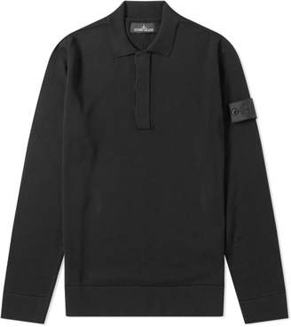 Stone Island Shadow Project Cotton Collared Knit