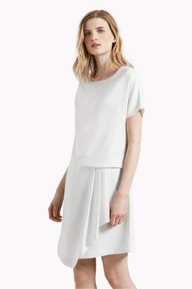 b199c24ba101 Great Plains Olivia Crepe Draped Front Dress