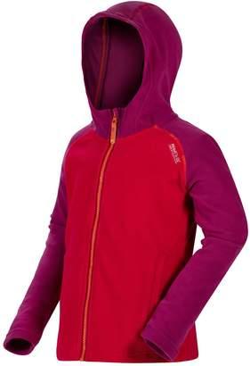 Regatta Girls Upflow Hooded Fleece Jacket