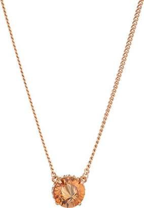 "Vince Camuto Women's 18"" Cubic Zirconia Rivoli Solitaire Pendant Necklace"