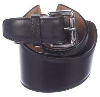 Alaia Leather Waist Belt