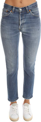 levi's re/done Re/Done Levi's No Destruction High Rise Jean $250 thestylecure.com