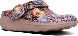 FitFlop Gogh Pro Superlight Flowercrush Leather Clog
