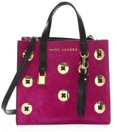 Marc Jacobs Mini Grind Suede Tote