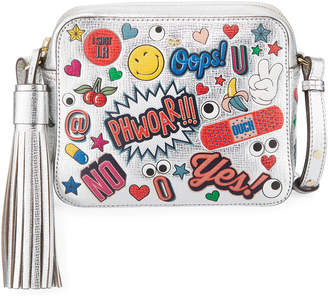 Anya Hindmarch All Over Wink Stickers Shoulder Bag