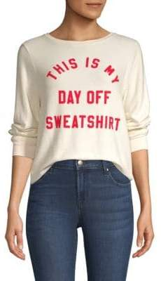 Wildfox Couture This Is My Day Off Sweatshirt