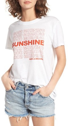 Women's Sub_Urban Riot Good Morning Sunshine Graphic Tee $34 thestylecure.com