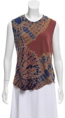 Raquel Allegra Sleeveless Tie-Dye T-Shirt