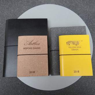 Artbox Bespoke Corporate Personalised Leather Diary Journal