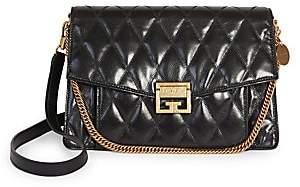 Givenchy Women's Medium GV3 Quilted Leather Shoulder Bag