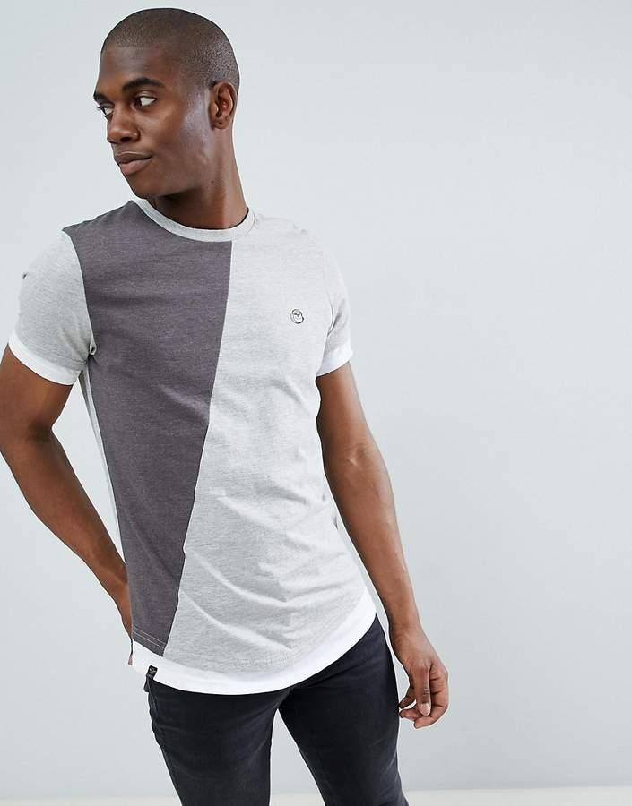 – T-Shirt mit Schlitz