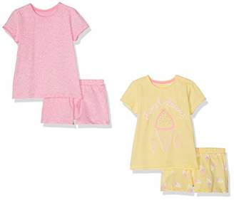 f523a708e5715 Mothercare Girl s Ice Cream and Sprinkles Shortie Pyjamas – 2 Pack  Sets