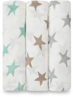 Aden Anais Aden & Anais Milky Way Bamboo Swaddles (Set of 3)