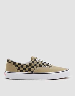 Vans Era 2-Tone Check Sneaker in Boa