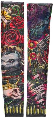 DSQUARED2 tattoo print arm sleeves