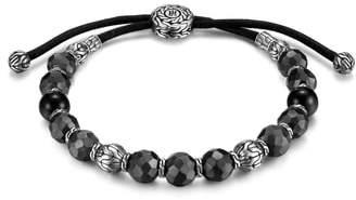 John Hardy Men's Hammered Bead Bracelet