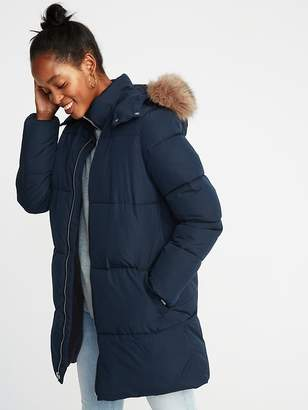 Old Navy Hooded Frost-Free Long Jacket for Women