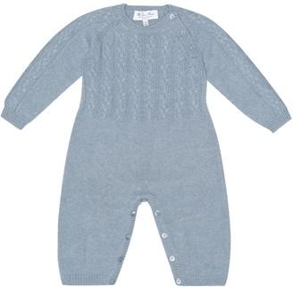 Loro Piana Kids Baby cashmere onesie