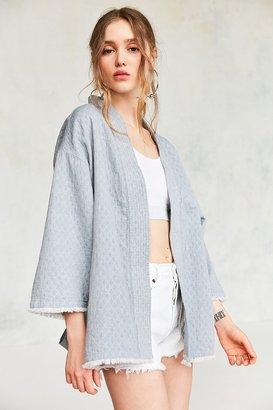 Kimchi Blue Bella Chambray Robe Jacket $79 thestylecure.com
