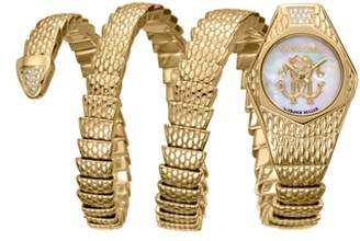 Roberto Cavalli BY FRANCK MULLER Avvolgere Diamond Snake Wrap Watch